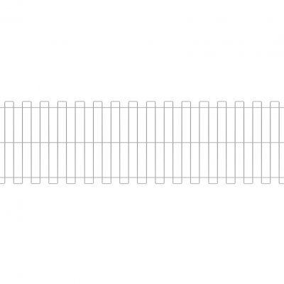 panelna ograja, žična ograja
