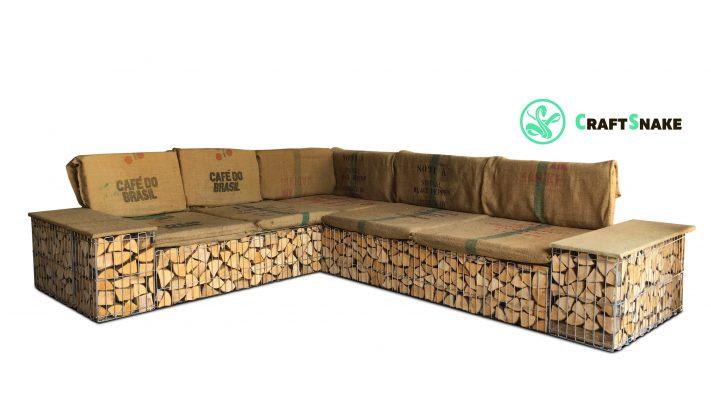 Садовый диван (вариант заполнения)
