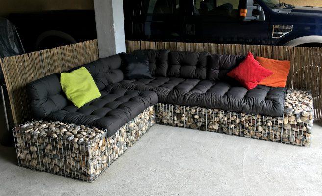 zunanji vrtni kavč